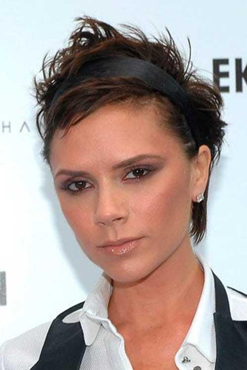 Victoria Beckham Pixie Hair with Headband