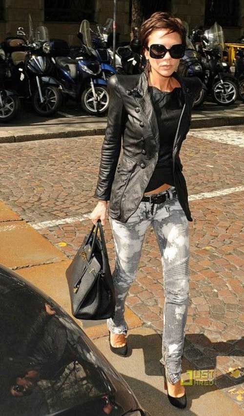 Victoria Beckham Trendy Pixie Cut