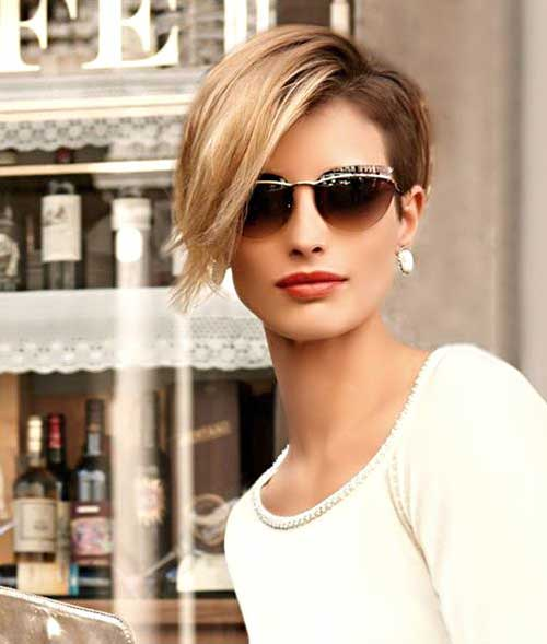 Asymmetrical Pixie Trendy Haircut