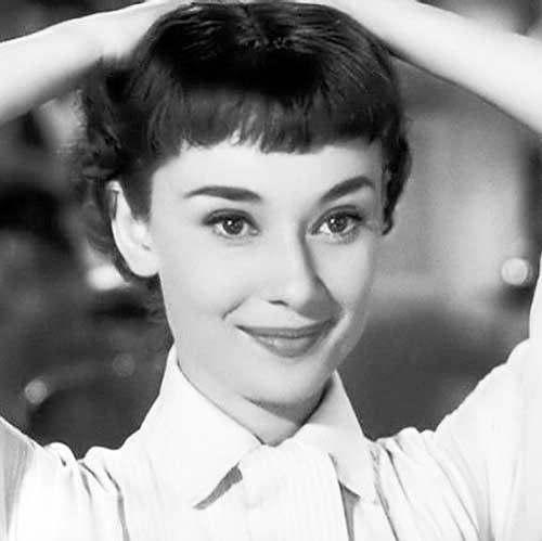 Audrey Hepburn Pixie Hair
