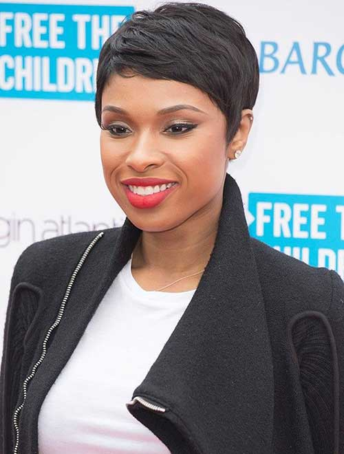 Black Pixie Hairstyles 2015