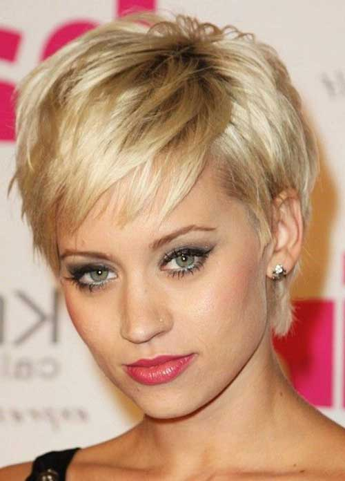 Blonde Pixie Haircut for Fine Hair Styles