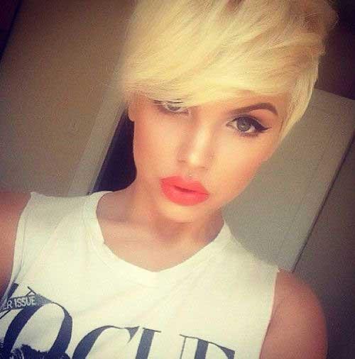 Best Blonde Pixie Hairstyles