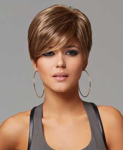 Brown Pixie Hair Color Ideas