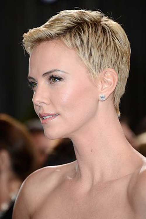Best Celebrity Blonde Pixie Cuts