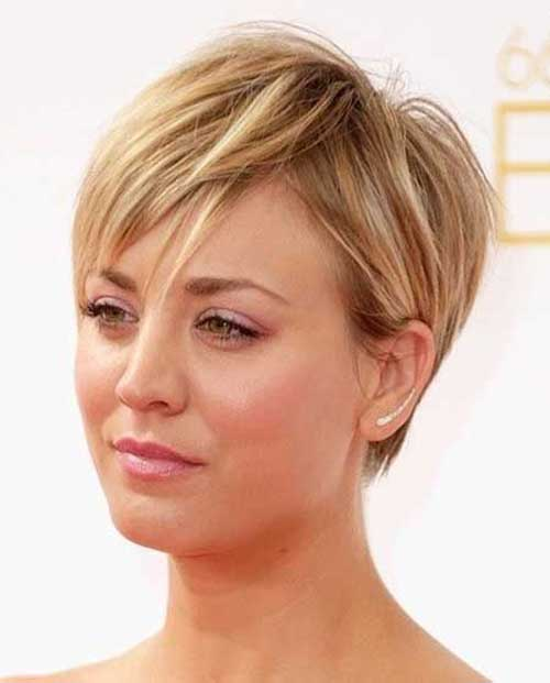 Chic Blonde Pixie Hairstyles