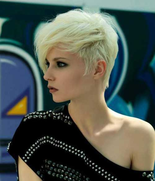 Cool Blonde Pixie Haircuts