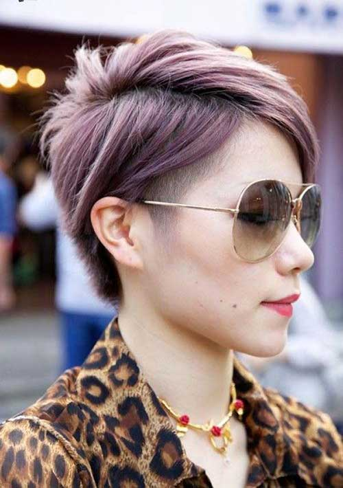 Cool Colored Pixie Cuts