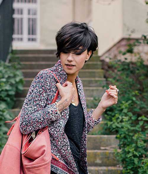 Cool Stylish Straight Pixie Cuts
