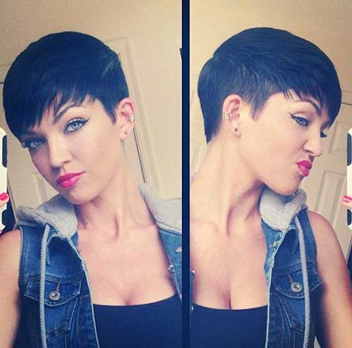 Cool Trendy Pixie Cut