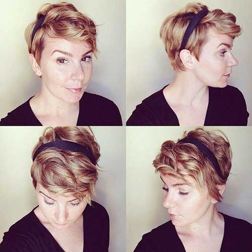 Cute Curly Pixie Haircut Styles