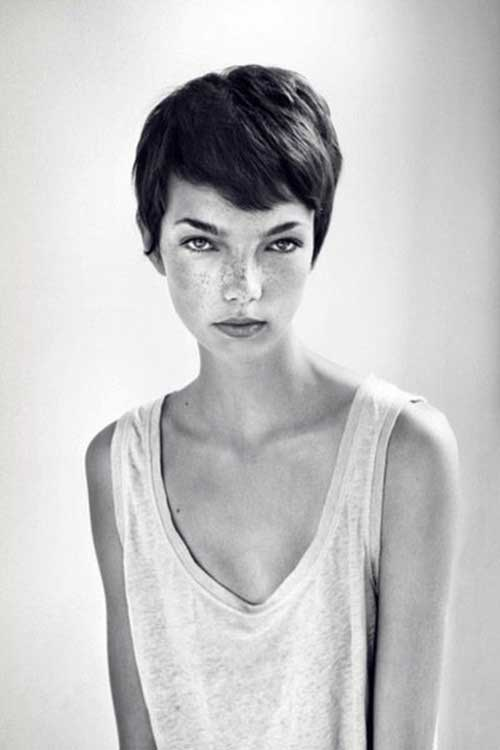 Cute Pixie Cut Long Face Pictures