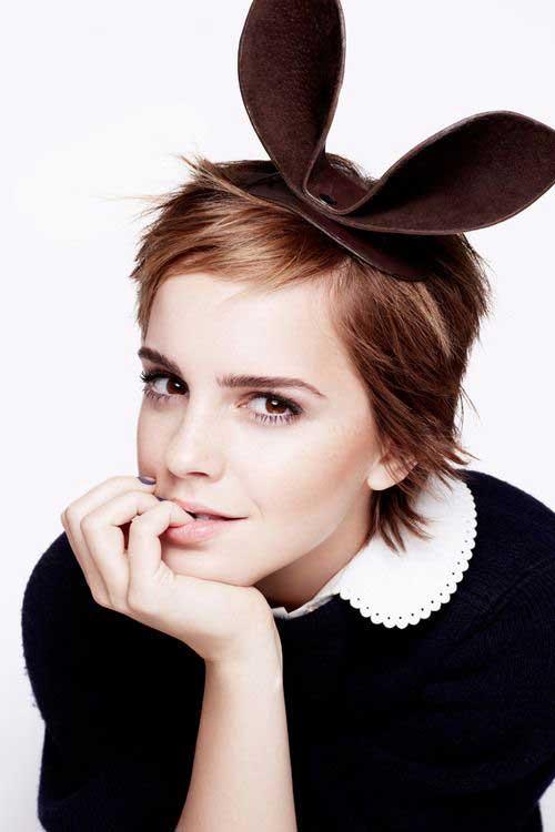 Emma Watson Cute Pixie Cuts