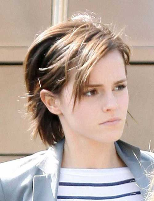 Think, emma watson short hair have