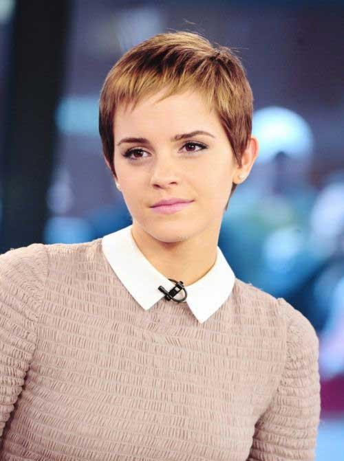 Emma Watson Pixie Cuts