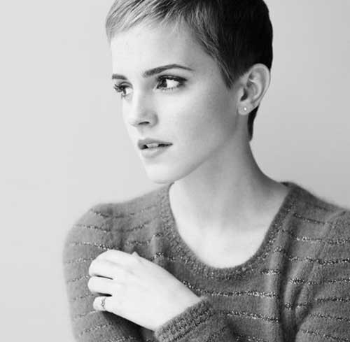 Emma Watson Short Pixie Cuts