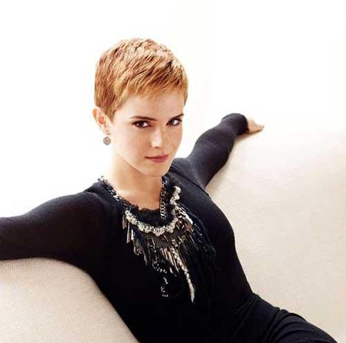Emma Watson Trendy Cut Pixie Hair
