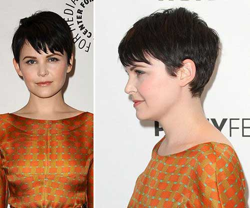 Ginnifer Goodwin Pixie Cut Side Looks
