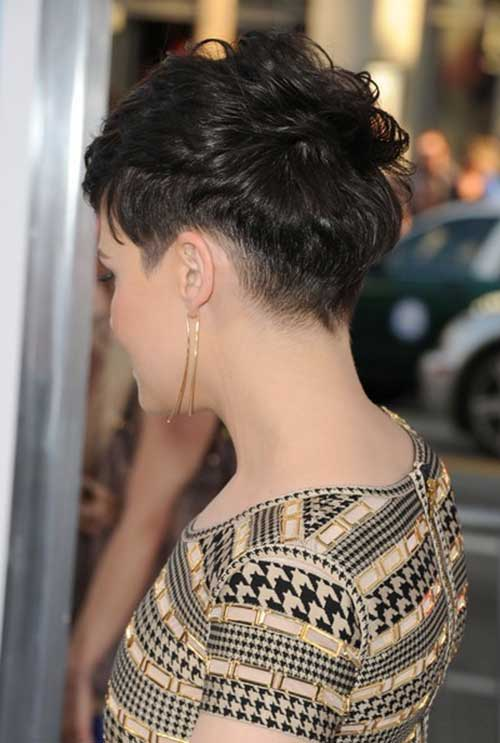 Ginnifer Goodwin Pixie Cut Side View