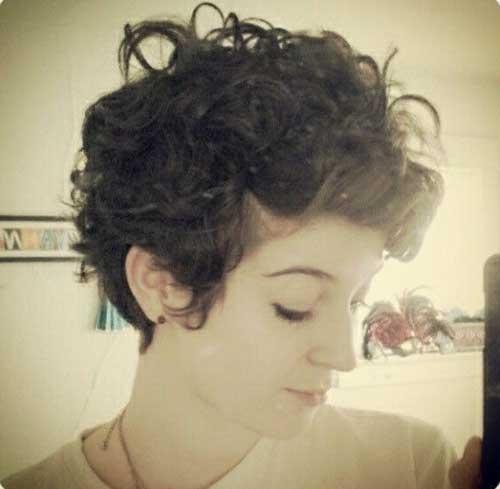 Girl Curly Pixie Cut Ideas
