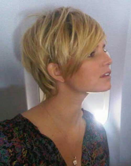 Girls Blonde Pixie Cut Styles