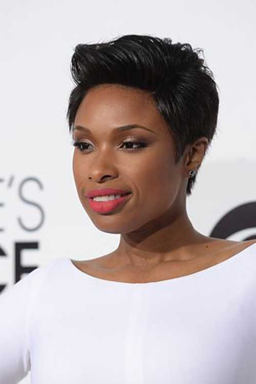 Jennifer Hudson Pixie Hair Cuts