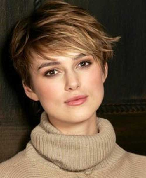 Layered Pixie Haircuts for Long Faces