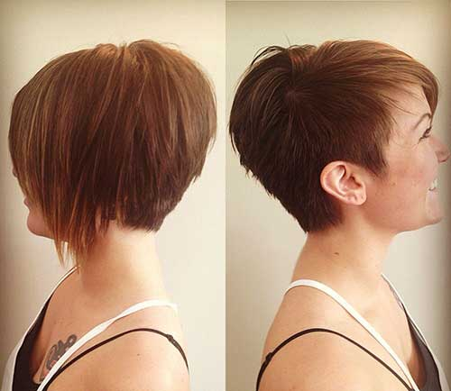 Long Asymmetrical Pixie Styles