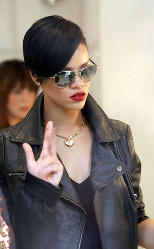 Long Pixie Cut Rihanna Pictures