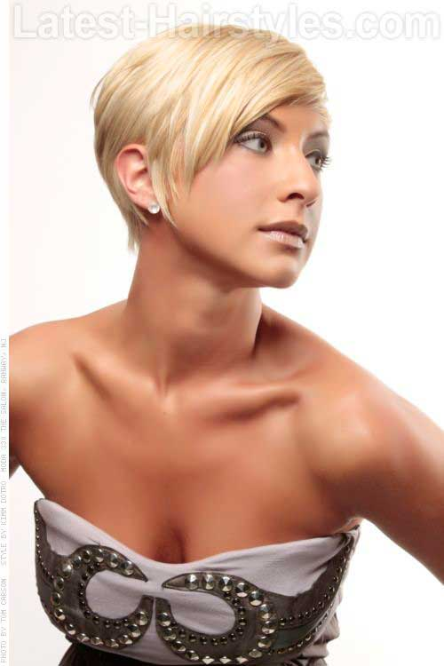 Longer Pixie Haircut for Fine Blonde Hair