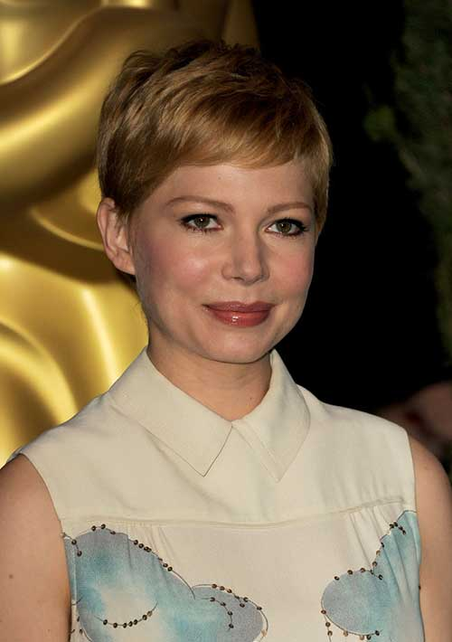 Michelle Williams Casual Pixie Cut