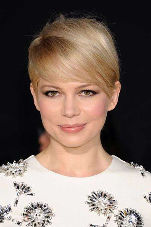 Michelle Williams Fine Pixie Hairstyles