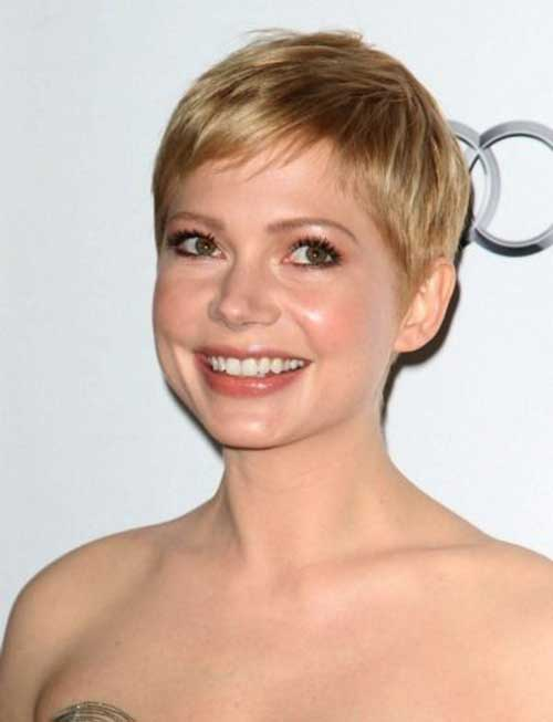 Michelle Williams Nice Pixie Cut