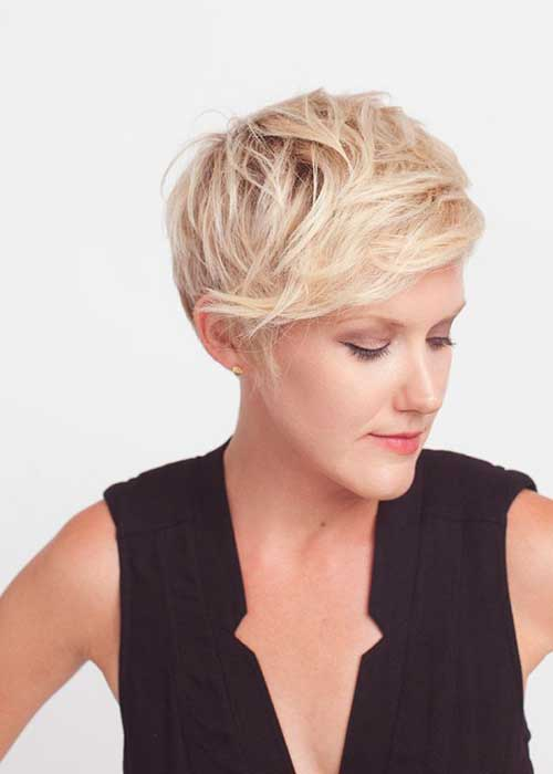 Modern Long Pixie Cuts