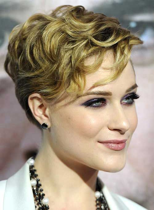 Naturally Curly Hair Pixie Haircut Ideas