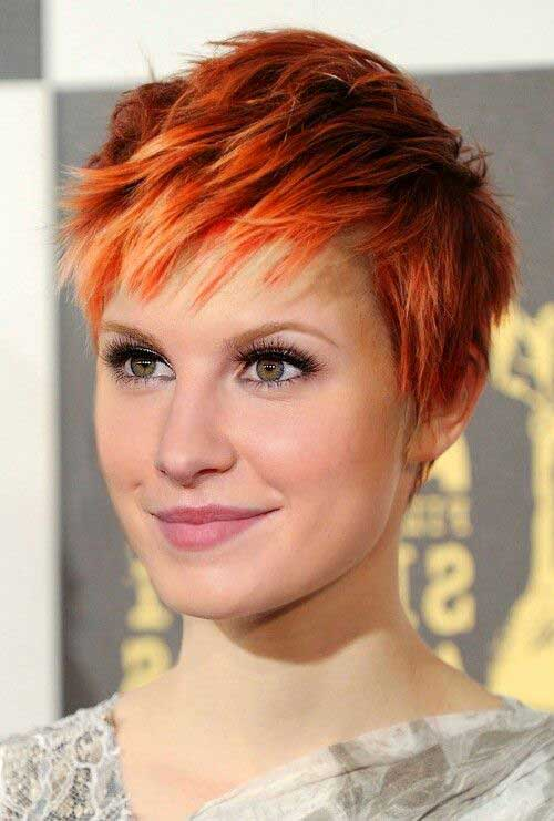 Orange Pixie Hair Color