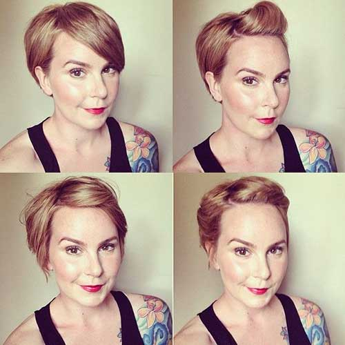 Pin Up Pixie Style Haircuts