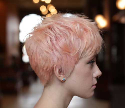 Best Pink Pixie Cut