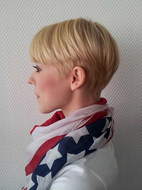 Pixie Cropped Style Hair