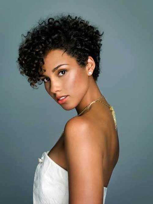 Pixie Curly Dark Hair Ideas