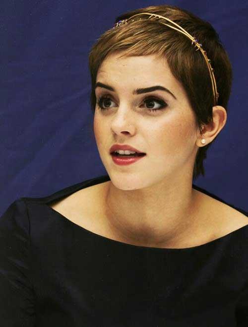 Pixie Cut Hair Emma Watson