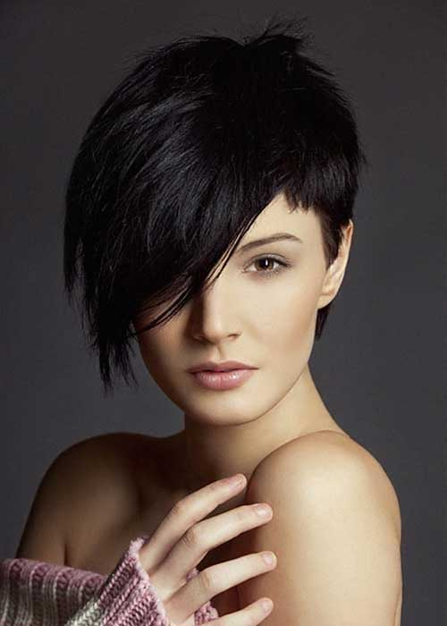 Nice Pixie Cut On Round Face