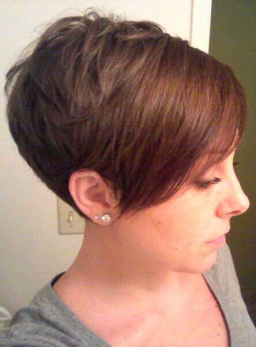 Chic Pixie Cuts with Long Bangs