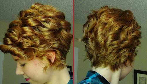 Curling Pixie Haircut Ideas