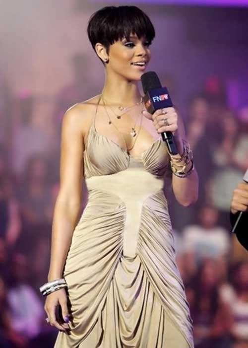Rihanna Pixie Cuts Cut