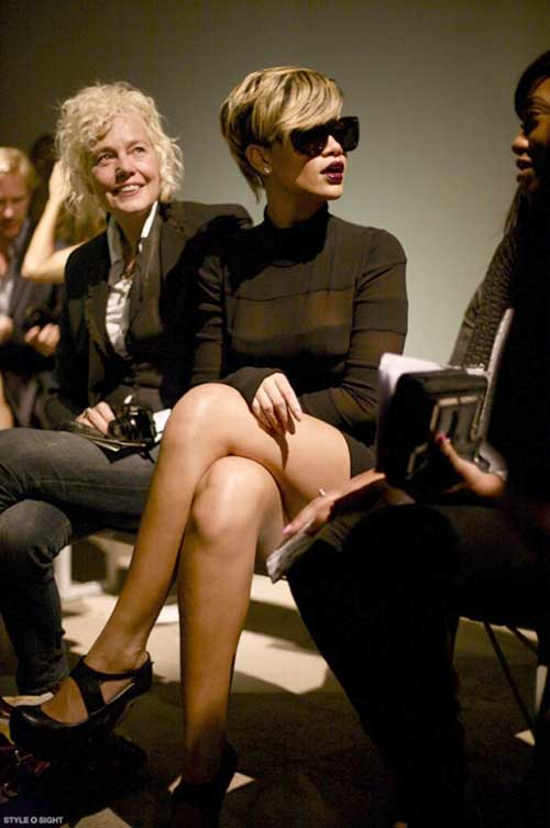 Best Rihanna Pixie Cut