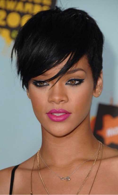 Best Rihanna Pixie Haircut
