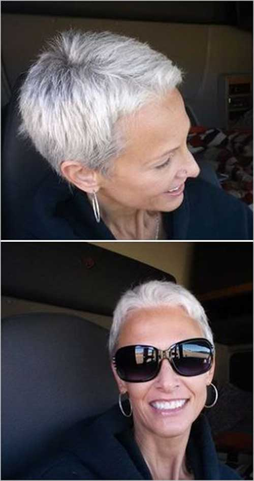 Short Blonde Hair Pixie Cropped Cuts