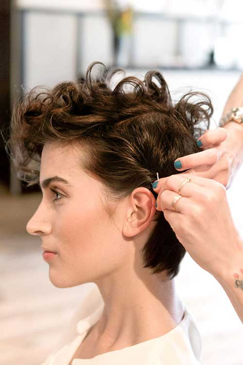 Best Short Curly Pixie Hairstyles