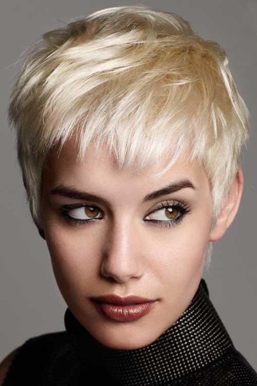 Short Cut Pixie Cropped Hair